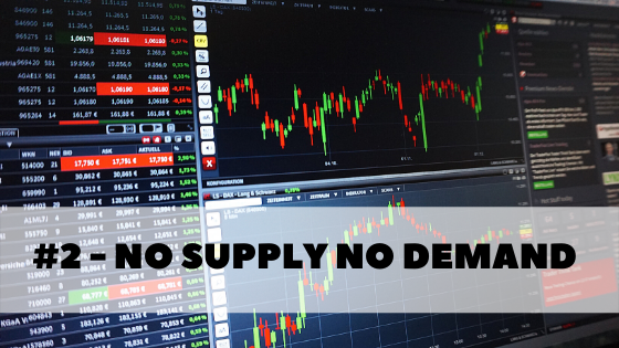 order flow video part 3 - no supply no demand