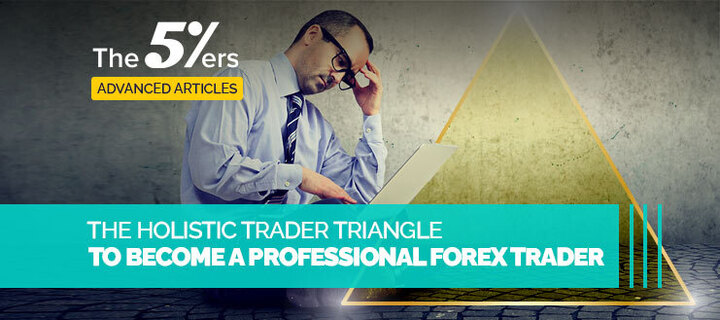 The Holistic Trader Triangle to Become a Professional Forex Trader