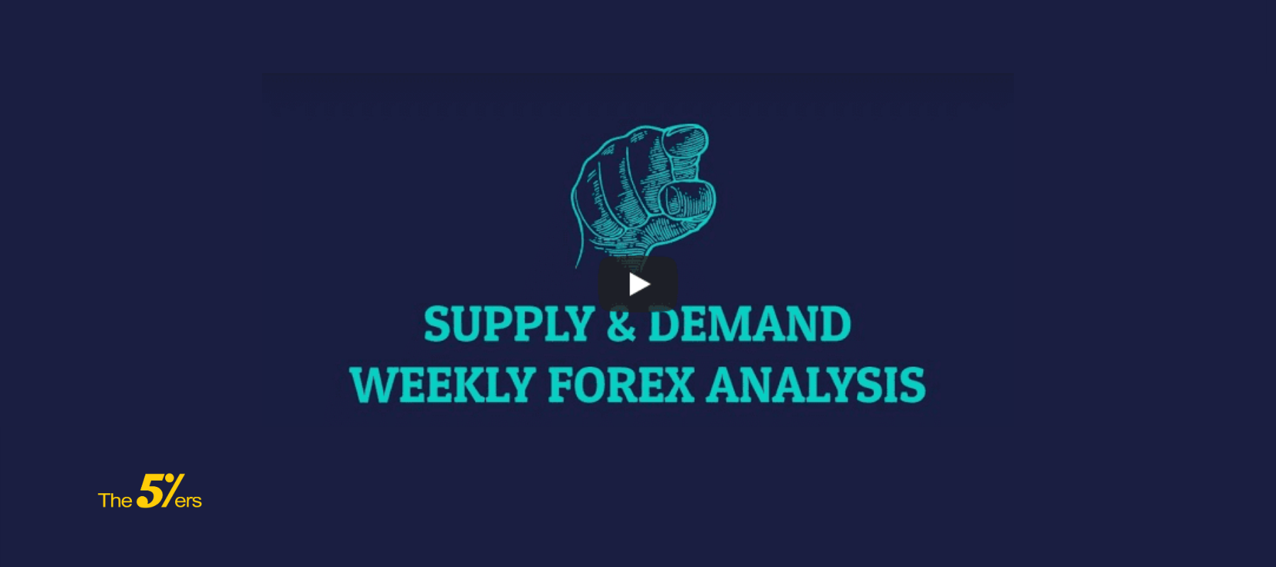 Weekly Forex Analysis - Supply & Demand Forex strategy
