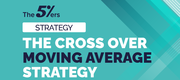 Simple trading strategy called the cross over moving average.
