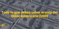 Todo lo que debes saber acerca del Dólar Americano (USD)