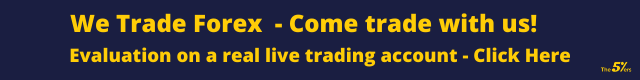Evaluation on a real live trading account