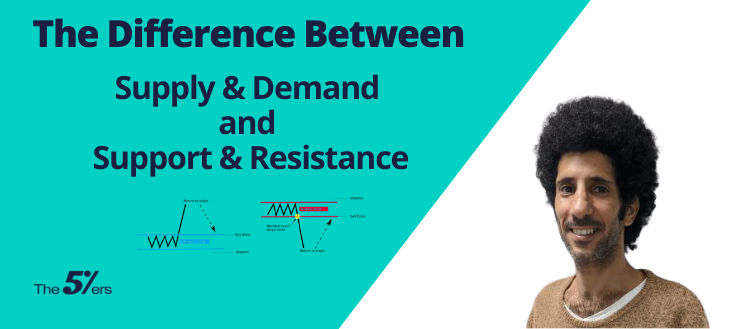 The Difference Between Supply & Demand and Support & Resistance