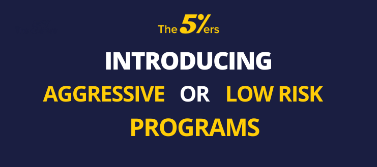 INTRODUCING AGGRESSIVE OR LOW RISK PROGRAMS 2