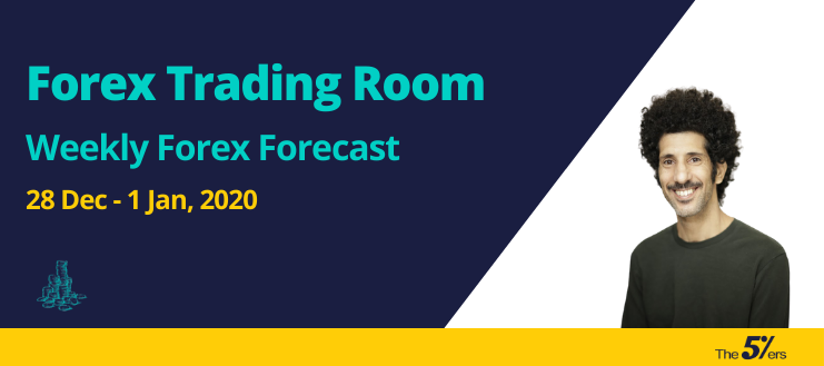 Forex Trading Room Weekly Forex Forecast 28 Dec - 1 Jan, 2020 - Short Positions on GBPAUD and GBPJPY