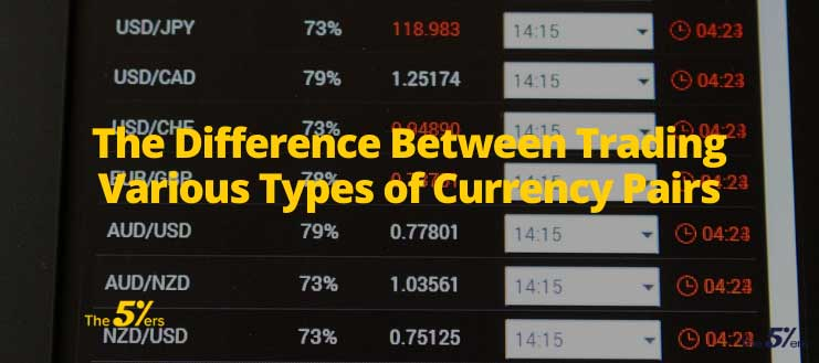The Difference Between Trading Various Types of Currency Pairs