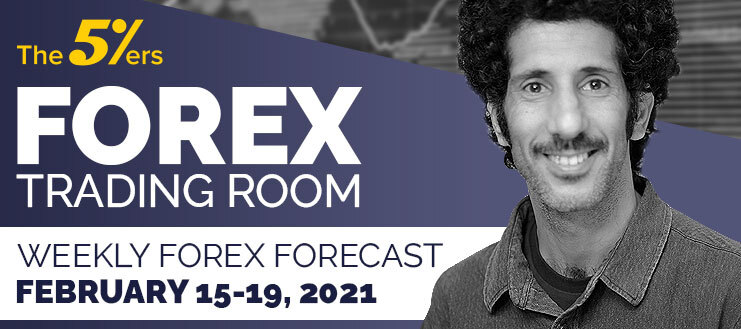 Forex Trading Room on February 15 – 19, 2021 - We Show and Explain an Open Sell Position on GBPUSD