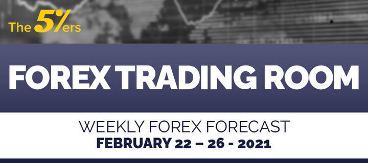 Forex Trading Room on February 22 – 26, 2021 – A buy position as a scalping/short-term on EURUSD.