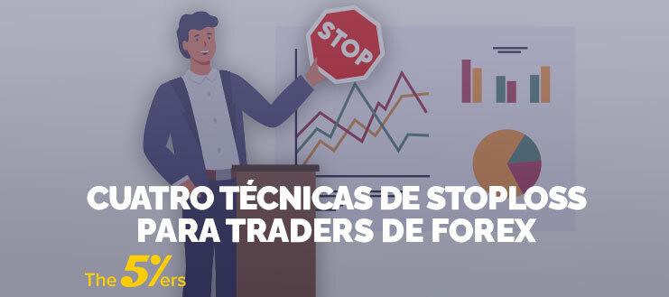 Cuatro Técnicas de Stop loss Para Traders de Forex