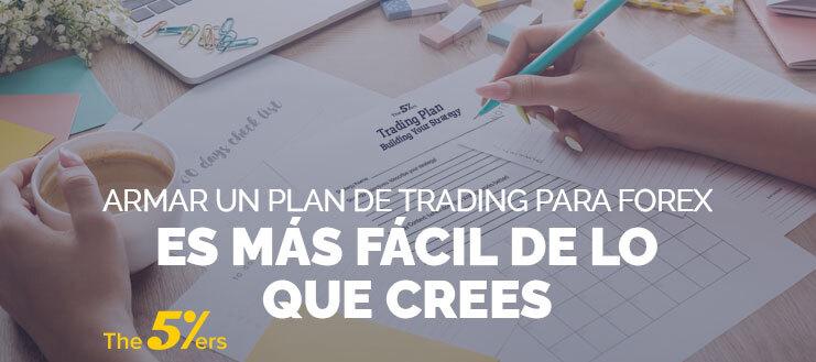Armar un Plan de Trading Para Forex es Más Fácil de lo Que Crees