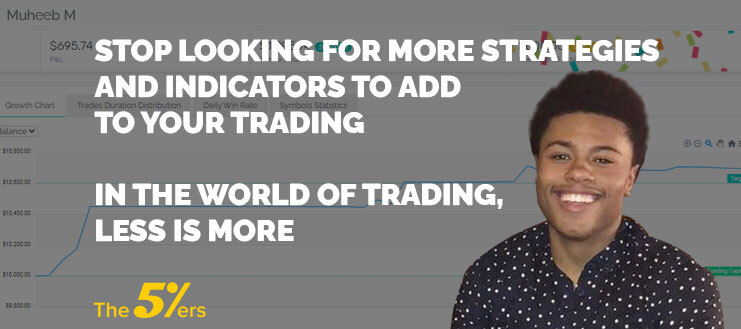 Stop Looking for More Indicators to Add to Your Trading: In the World of Trading, Less is More