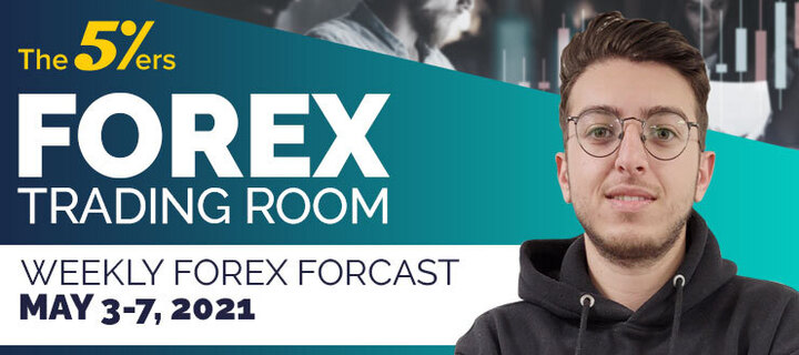 Forex Trading Room on May 3 – 7, 2021 - Important key levels for entry setup