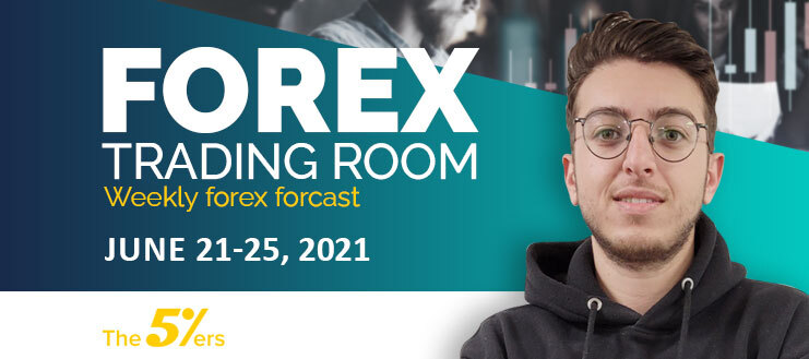 Forex Trading Room on June 21 – 25, 2021 - The consequences of high impact news