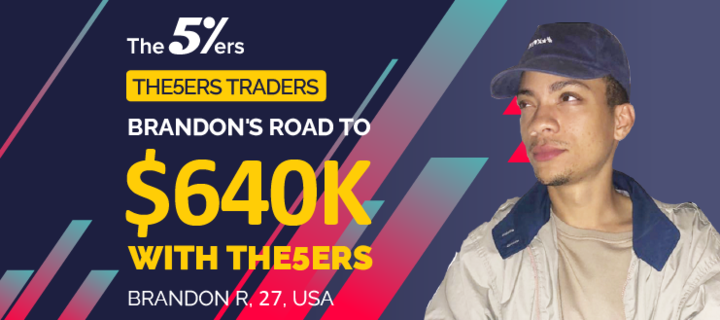 Brandon's Road to $640K With The5ers