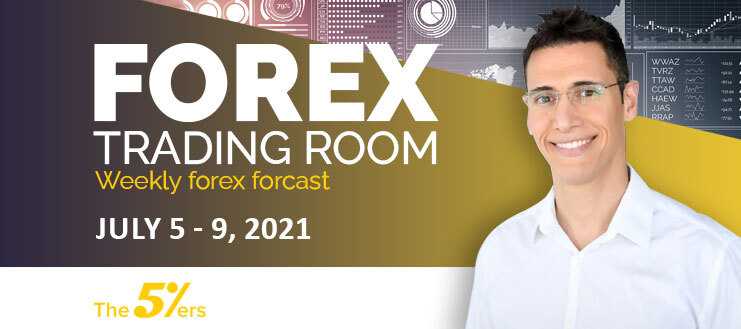 Forex Trading Room on July 5 – 9, 2021 – Pairs That Retesting Demand Zones