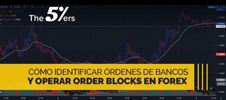 Cómo Identificar Ordenes de Bancos y Operar Order Blocks en Forex