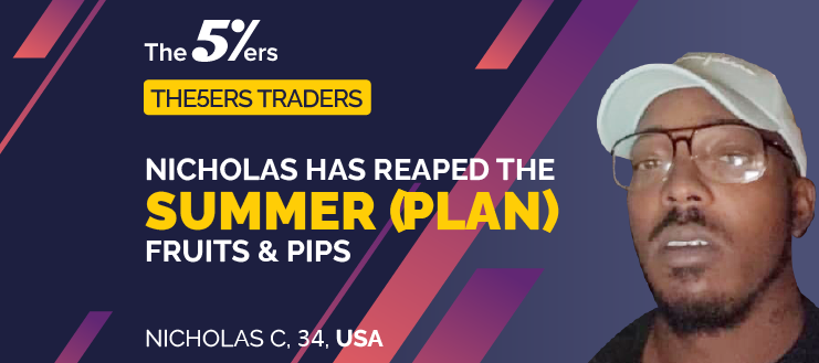 Nicholas Has Reaped The Summer (Plan) Fruits & Pips